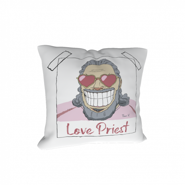 Love Priest Kissen
