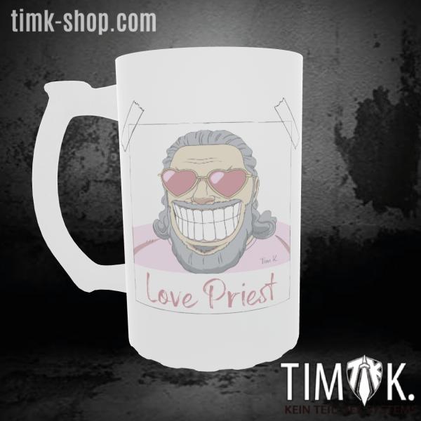 Love Priest Bierkrug