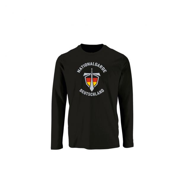 Nationalgarde II Langarmshirt schwarz