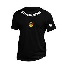 Nationalgarde T-Shirt schwarz