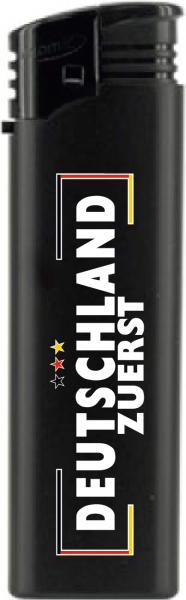 Deutschland zuerst Feuerzeug schwarz