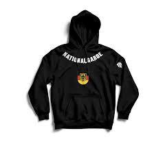 Nationalgarde Hoodie schwarz