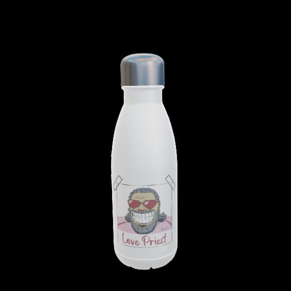 Love Priest Edelstahl Trinkflasche