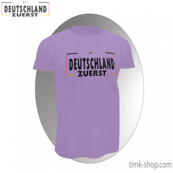 Deutschland zuerst T-Shirt rosa