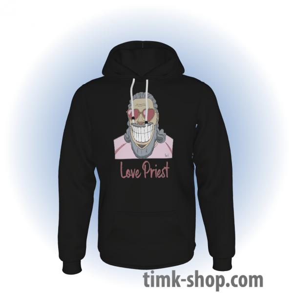 Love Priest Hoodie schwarz