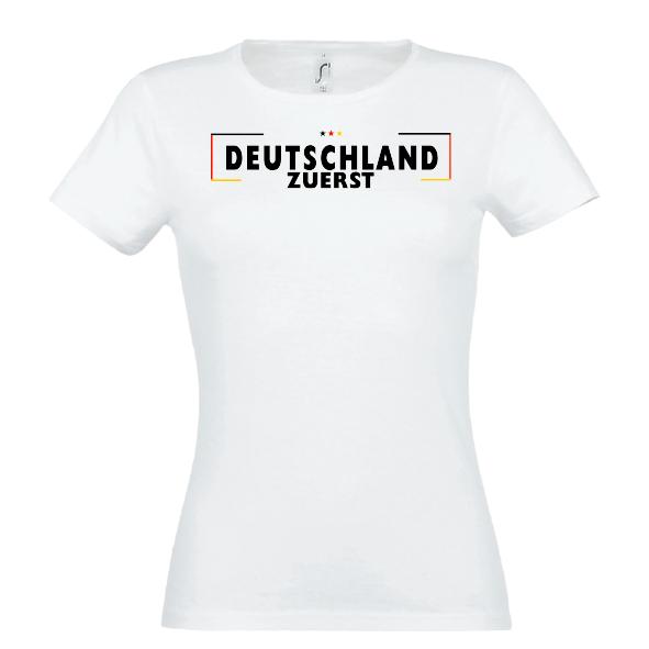 Grenze Lady T-Shirt weiss