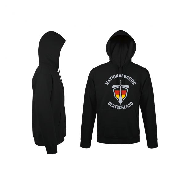Nationalgarde II - Hoodie schwarz