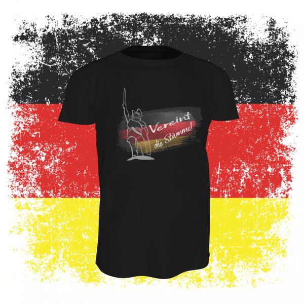Vereint die Stämme T-Shirt schwarz