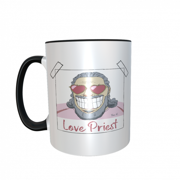 Love Priest Tasse schwarz