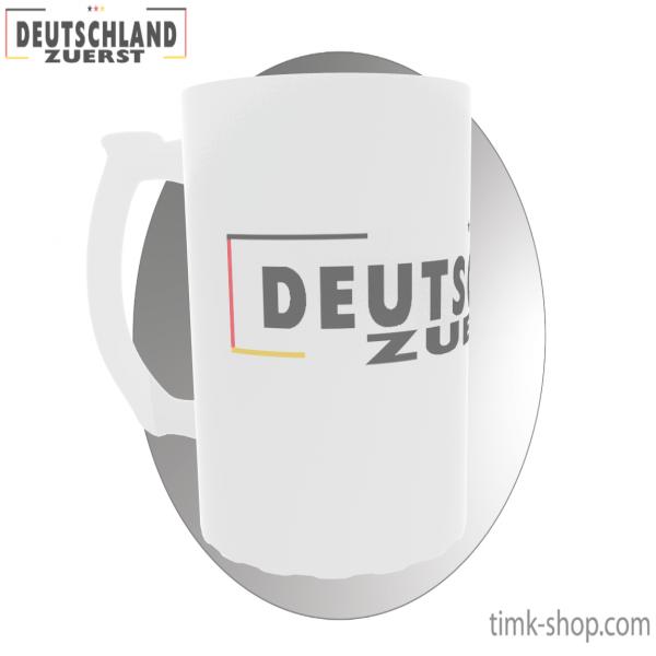Deutschland zuerst Bierkrug