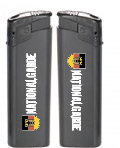 Nationalgarde Feuerzeug schwarz