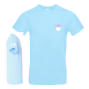 LP-Kollektion T-Shirt blau