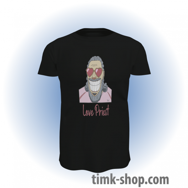 Love Priest T-Shirt schwarz